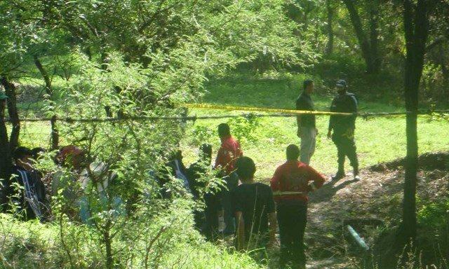 ¡La corriente de un río arrastró y mató a un joven en Jerez, Zacatecas!