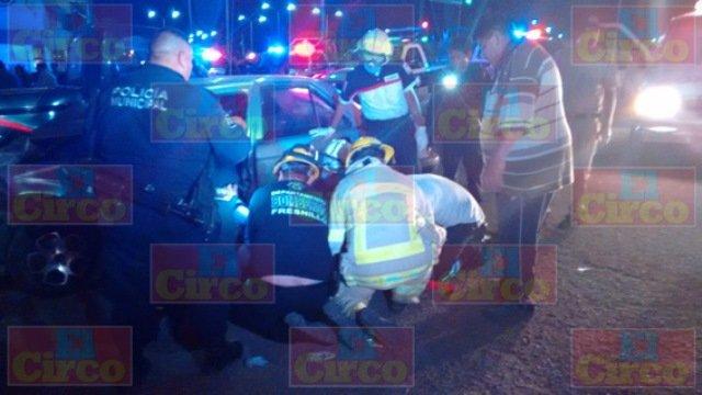 ¡Murió un bebé de 10 meses de nacido tras un choque entre un auto y una camioneta en Fresnillo!