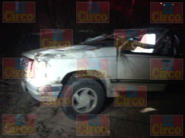 Un hombre se mató tras volcar su camioneta en Encarnación de Díaz