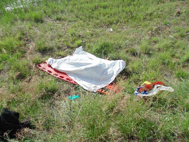 Murió una mujer tras volcar una camioneta conducida por su hijo en Aguascalientes