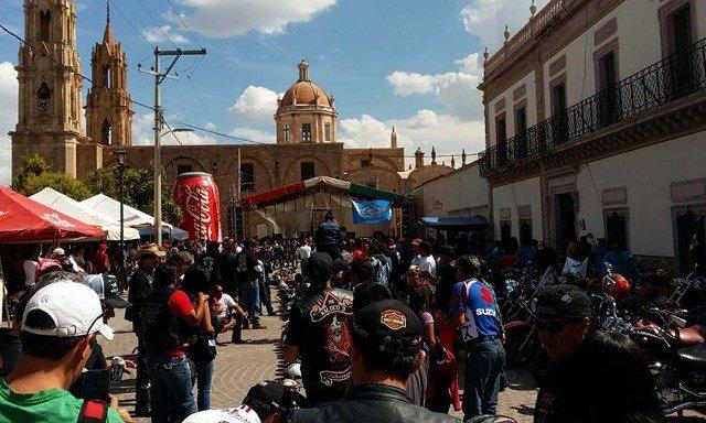 """Murió una joven """"biker"""" en un accidente de motocicleta en Ojocaliente, Zacatecas"""