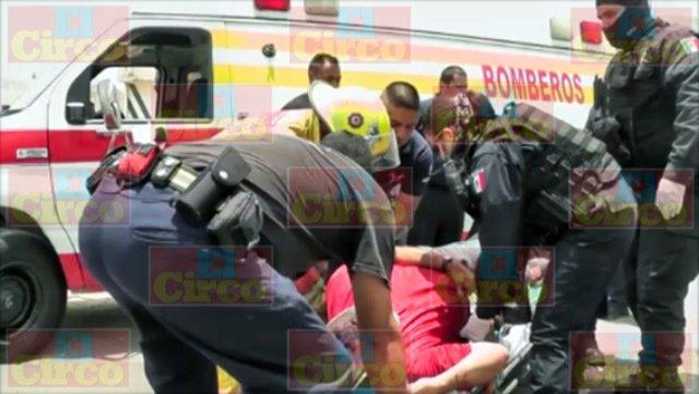 Tras una intensa persecución atraparon a 5 sujetos en Zacatecas