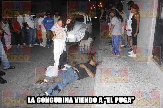 """¡Ejecutaron al narcomenudista """"El Puga"""" en presencia de su concubina en Lagos de Moreno!"""