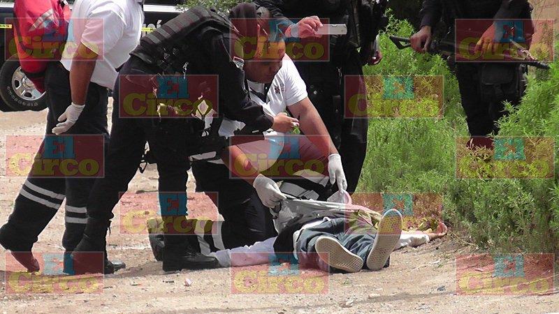 ¡Brutal ejecución de un joven en Fresnillo!
