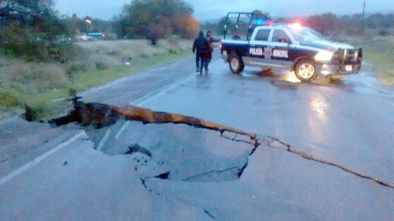 ¡Varias casas inundadas y una carretera cerrada en Jesús María dejan las lluvias!