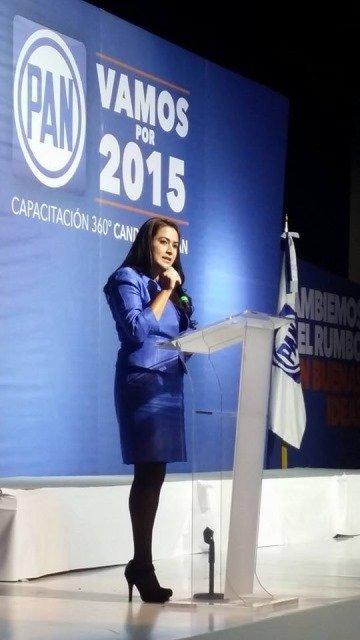 Las propuestas ciudadanas respaldan a los candidatos del PAN: Tere Jiménez