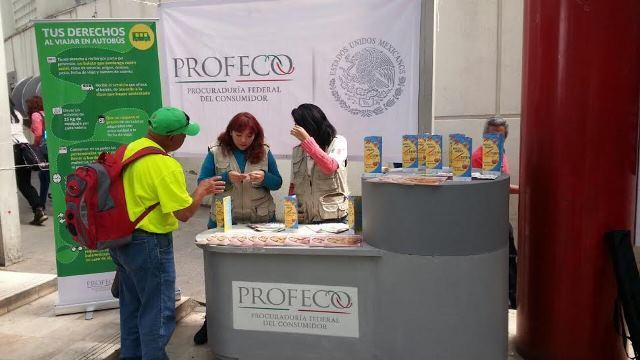 ¡PROFECO instaló módulos de atención en Centrales de Autobuses y Aeropuerto Internacional de la ciudad de México!