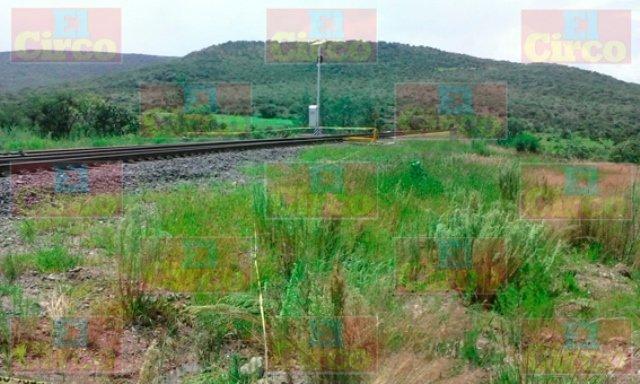 ¡Hombre murió destrozado por el tren en Lagos de Moreno!
