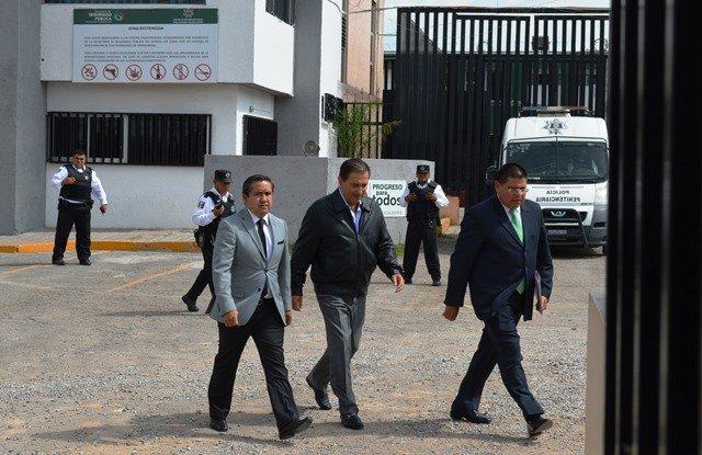 ¡Finalmente Luis Armando Reynoso Femat abandonó el CERESO Aguascalientes!