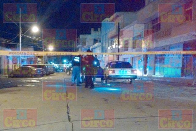 ¡Taxista fue baleado y herido en la Zona Centro de Fresnillo!