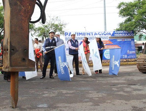 ¡Arrancaron las obras de repavimentación en Blvd. Guadalupano, de 2° a 3er Anillo!