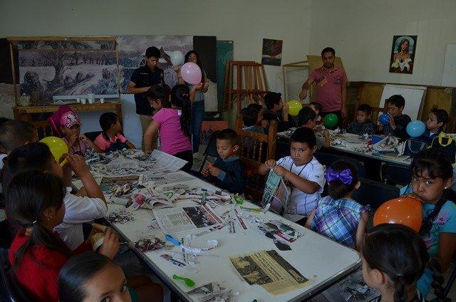 ¡Asisten casi 200 niños a cursos de verano en Calera!