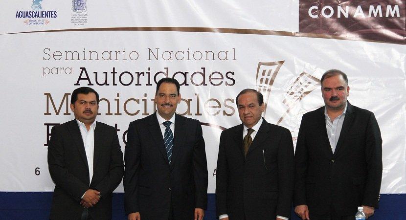 ¡Aguascalientes será sede del Seminario Nacional de Alcaldes Electos!