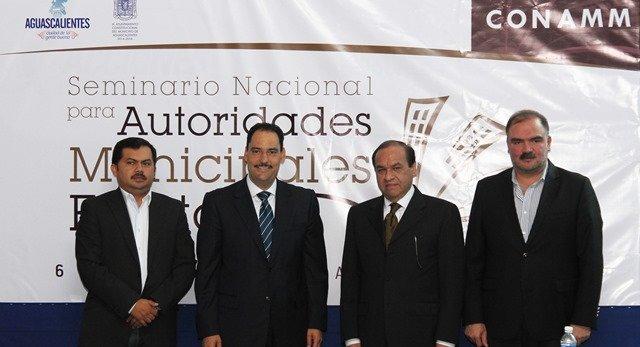 ¡Aguascalientes será sede del Seminario Nacional para Autoridades Municipales Electas!