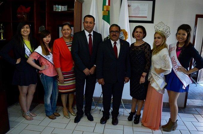 ¡Recibe el municipio de Calera a representantes de belleza de clubes migrantes!