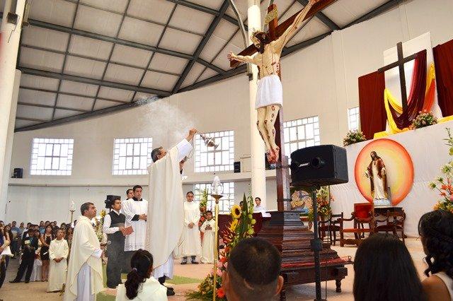 ¡Se realizó la bendición de la réplica del Señor del Salitre en Calvillo!