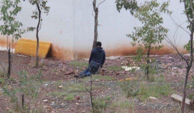¡Joven se suicidó colgándose de un árbol en plena vía pública en Zacatecas!