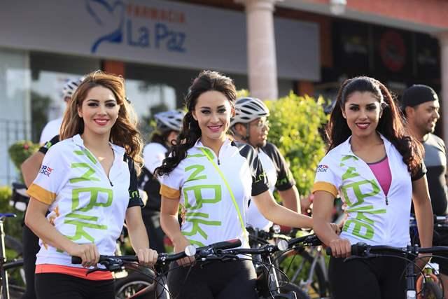 ¡Encabezan las candidatas de la FENAZA 2015 rodada ciclista con causa!