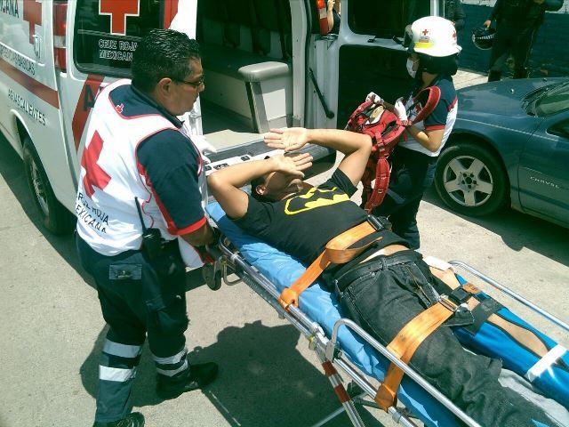 ¡FOTOGALERIA/ No le gustó que le cobraran un dinero y baleó a un joven en Aguascalientes!