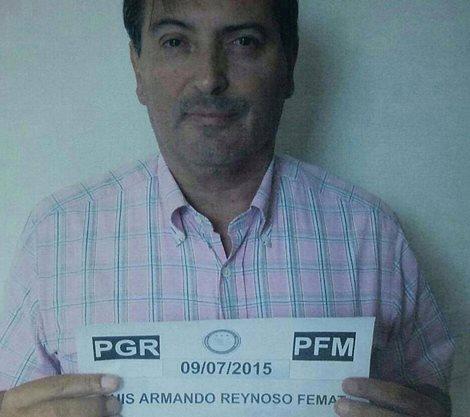 ¡Ingresan a Luis Armando Reynoso Femat al CERESO de Ags.!