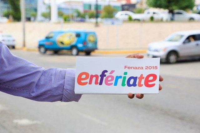 """¡Realizó la FENAZA la primera activación de la campaña """"Enfériate"""" 2015!"""