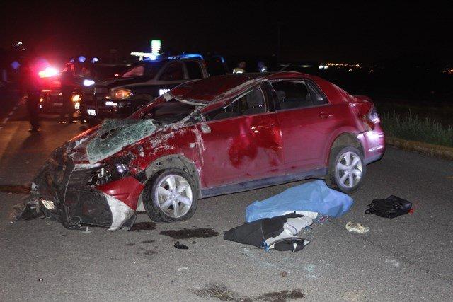 ¡Un maestro se mató espantosamente tras volcar su automóvil en Aguascalientes!