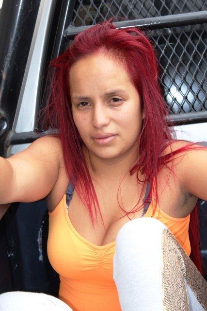 ¡Policías municipales atraparon a una mujer traficante de drogas en Aguascalientes!