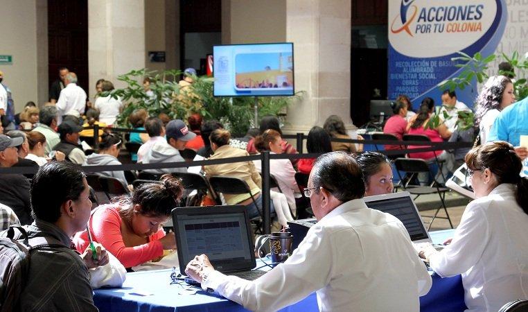 ¡Más de 100 mil personas han sido atendidas en el Miércoles Ciudadano del MunicipioAgs!