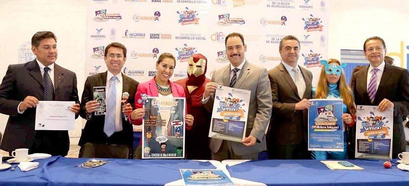 Ofrece Gobierno Municipal de Aguascalientes diversión y aprendizaje para niñas y niños en vacaciones de verano