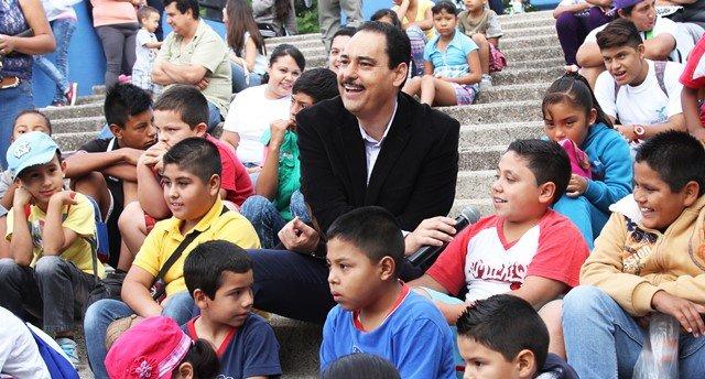 ¡Inauguró el alcalde Juan Antonio Martín del campo curso de verano de enseñanza y cuidado del medio ambiente!