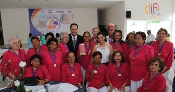 ¡Premia el MunicipioAgs a ganadores de los Juegos Deportivos y Culturales de Personas Mayores!