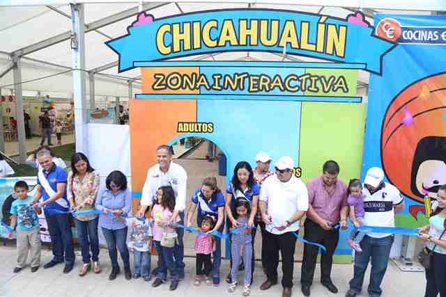 ¡El DIF Municipal de Jesús María instaló la Zona Interactiva Chicahualín en la Feria!