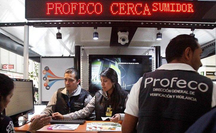 ¡Recuperó la PROFECO alrededor de 4 mdp en operativo en centrales de autobuses y en el AICM!