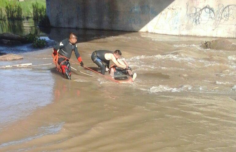 ¡Encontraron a un hombre ahogado en el Río Aguanaval de Fresnillo!
