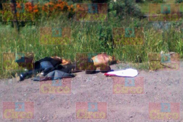¡Ejecutaron y decapitaron a 2 desconocidos en Lagos de Moreno!