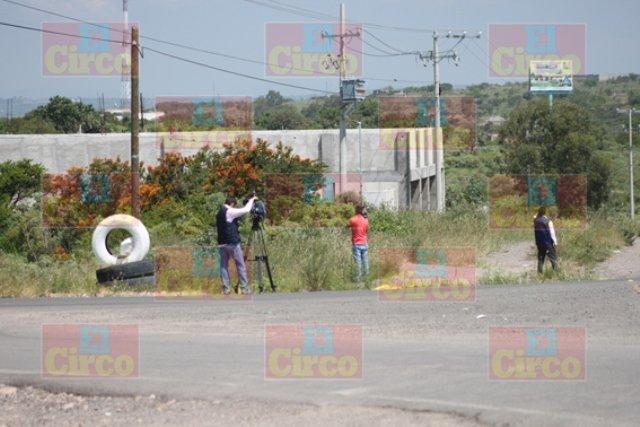 ¡ FOTOGALERÍA/ Ejecutaron y decapitaron a 2 desconocidos en Lagos de Moreno!