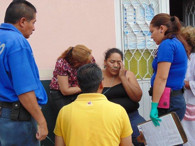 ¡Impresionante flamazo dejó saldo de 2 lesionados en Aguascalientes!