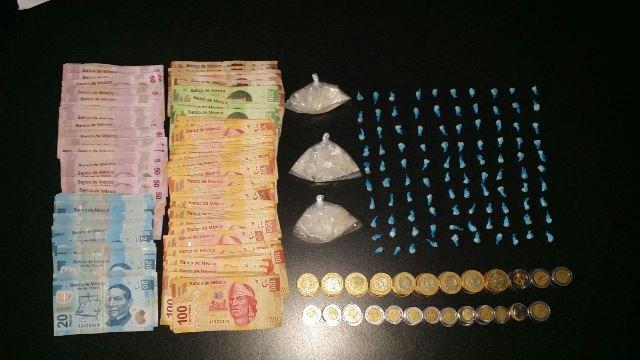 ¡Policías estatales atraparon a 3 narcotraficantes en Aguascalientes y les decomisaron drogas!