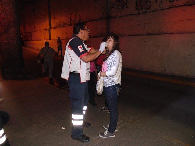 ¡45 peregrinos lesionados tras un aparatoso accidente en Aguascalientes!