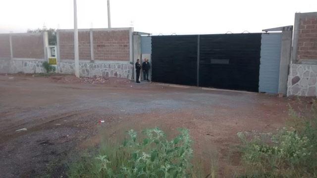 ¡Mini-comando de encapuchados asaltó una fábrica de block en Aguascalientes!