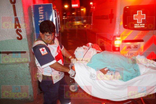 """¡Grave hombre atropellado por auto """"fantasma"""" en Lagos de Moreno!"""
