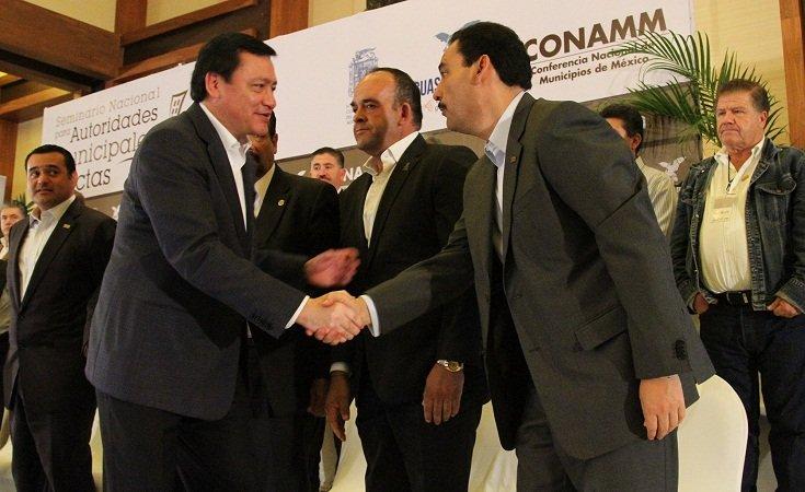 ¡Clausuró Miguel Ángel Osorio Chong Seminario Nacional para Autoridades Electas en Ags.!
