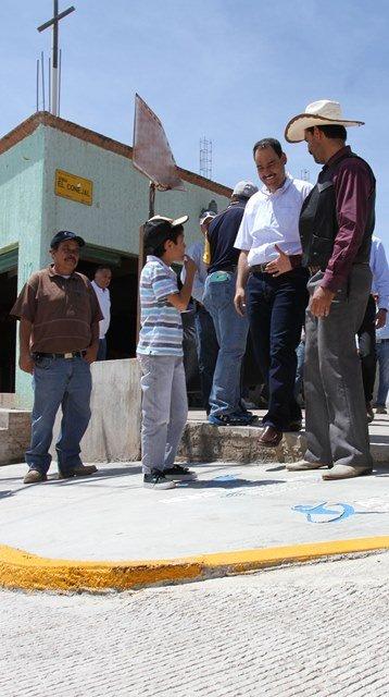¡Atiende Gobierno Municipal de Aguascalientes peticiones de habitantes del sector rural!