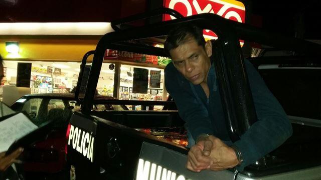 "¡Capturan a peligroso ""chilango"" que asaltó una tienda OXXO en Aguascalientes!"