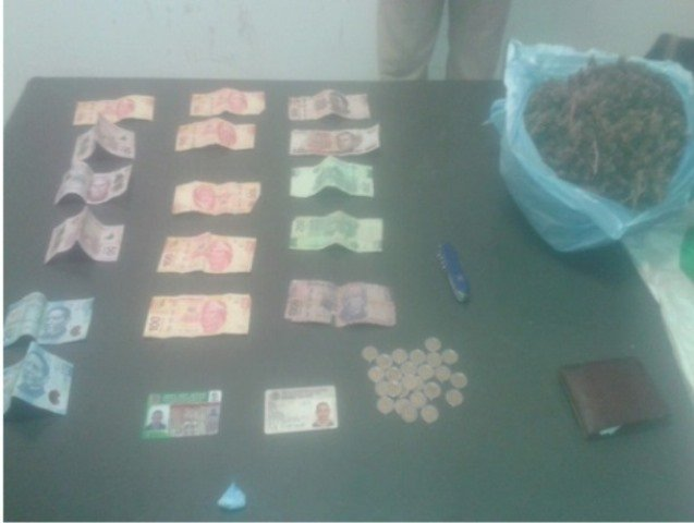 "¡Atraparon a narco de ""La Oficina"" con 2 kilos de marihuana en Aguascalientes!"