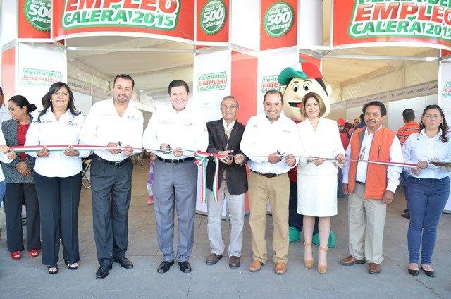 ¡Exitosa Feria del Empleo en Calera!