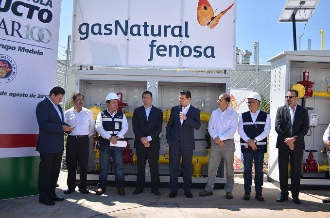 ¡Inicia operaciones con gas natural la empresa Envases y Tapas Modelo en Calera!