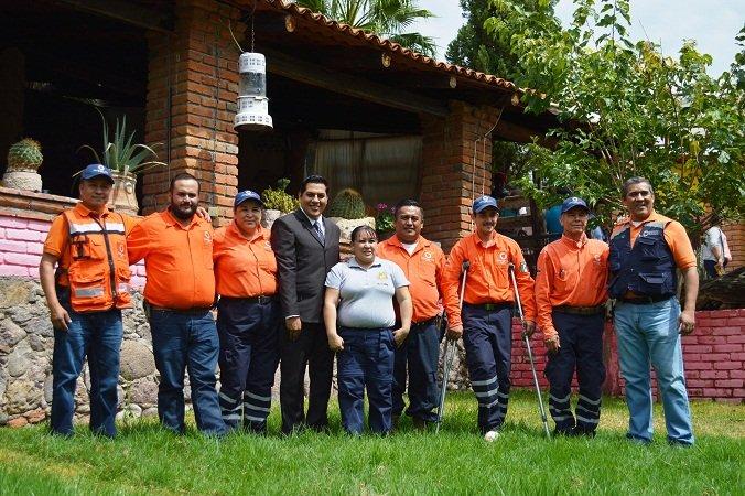 ¡Celebró el municipio de Calvillo a elementos de Protección Civil en su día!