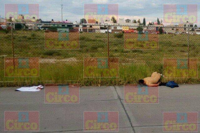 ¡Ejecutaron a un hombre en Fresnillo y le dejaron un narco-mensaje!