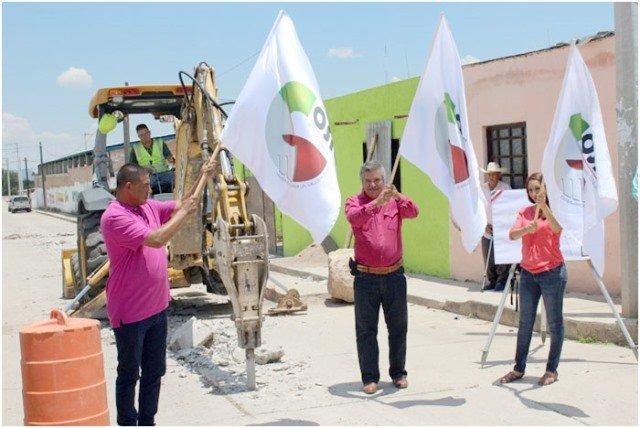 ¡La prosperidad llegará a Cosío a través de varias obras gracias al alcalde Gustavo Padilla Adame!